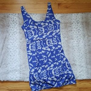5/$25 Urban Outfitters Silence Noise Dress Blue 10